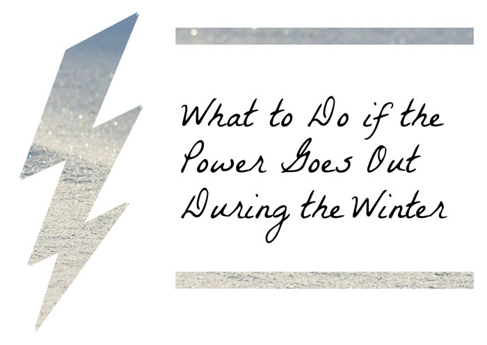 What to do if your power goes out during the winter in CO