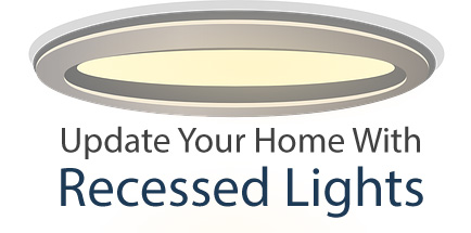 Install recessed lights - call an electrician in Littleton