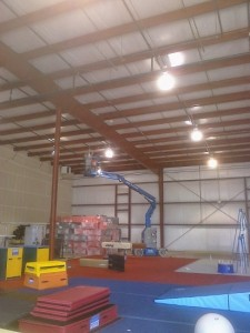 Commercial Warehouse Lighting in Centennial