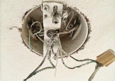 damaged-wiring-repair-light-fixture-overheating