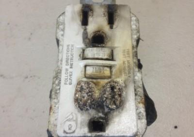 denver-burned-gfci-outlet-repair