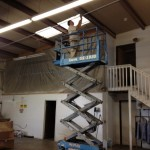 Commercial Electrician conduit installation for new circuit