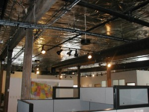 Denver Commercial Electrician Track Lighting Installation