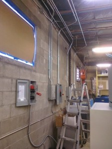 Commercial Electrician Electrical conduit and wiring