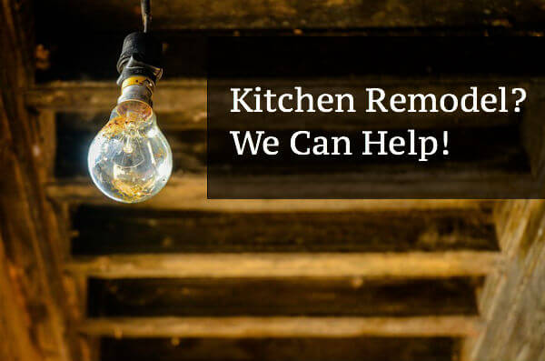 Kitchen Remodel? We Can Help!