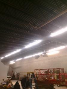 Commercial Garage Lighting Installation in Littleton