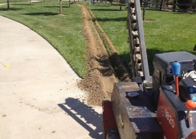 littleton-lighting-installation-trenching