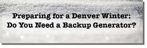 Prepping for winter: Do you need a backup generator?
